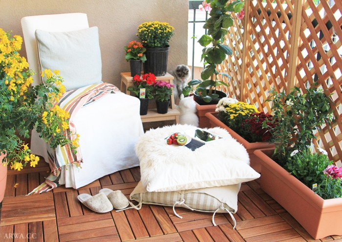 تنظيفات الربيع وأرضيات الخشب الخارجية
