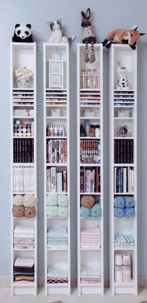 تنظيم المكتبة