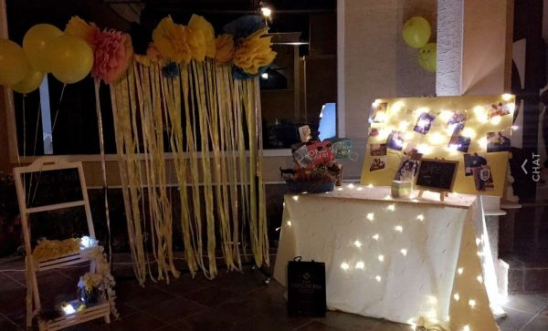 حفلة تخرجي الصفراء ..~